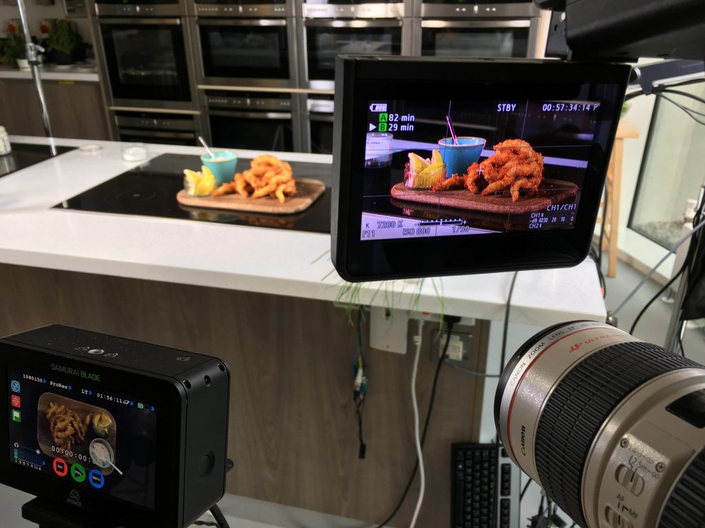 Create great food video content with MGL Media.